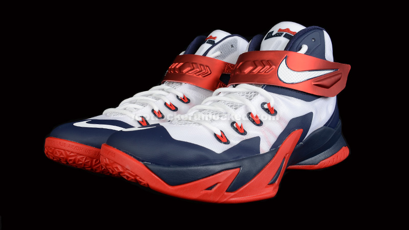 "0ca47856b18b Nike LeBron Zoom Soldier 8 ""USA"" – Foot Locker Blog"