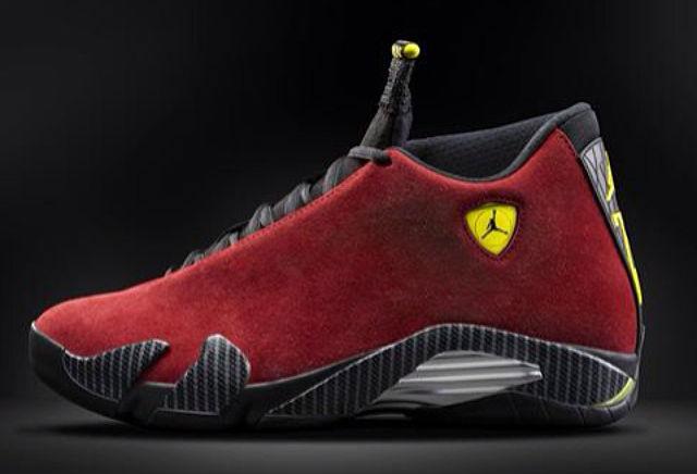 """separation shoes 781d2 358fb Air Jordan 14 Retro """"Red Suede"""" QS Release Details – Foot ..."""