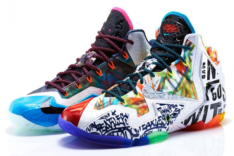 "on sale 2722d 0266b Nike LeBron 11 ""What the LeBron"" – Foot Locker Blog"