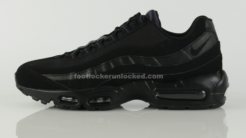 b1795ef04aa Foot Locker Unlocked Nike Air Max 95 Black 2.  Foot Locker Unlocked Nike Air Max 95 Black 3.  Foot Locker Unlocked Nike Air Max 95 Black 4