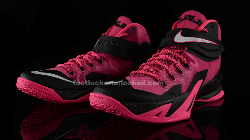 "sports shoes c5320 11a6c Nike LeBron Zoom Soldier VIII ""Kay Yow"""