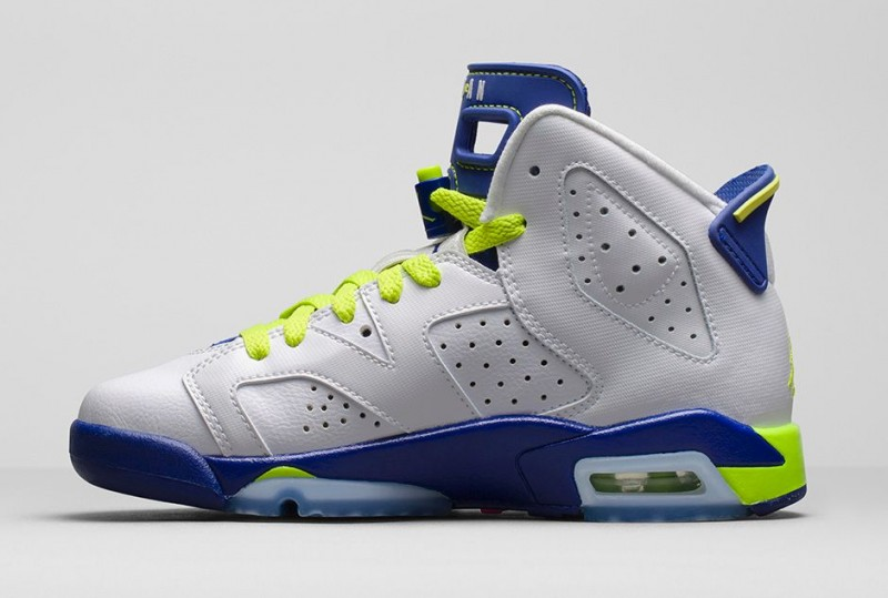 more photos 62470 9442b Kids Air Jordan 6 Retro 'Fierce Green' – Foot Locker Blog
