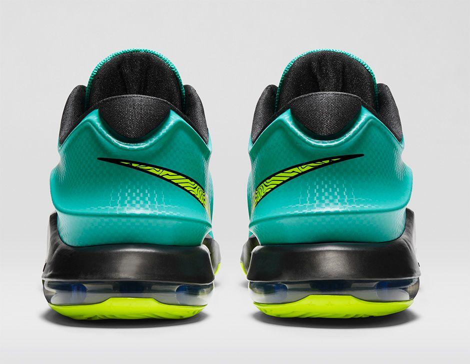 Hot On Sale Nike KD 7 Hyper Jade Volt Black Photo Blue 653996 37