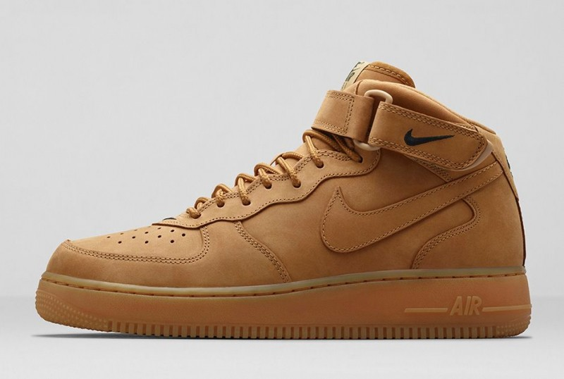"meilleure sélection f42ed 352ba Nike Air Force 1 Mid ""Flax"" – Foot Locker Blog"