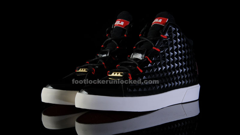 new product e3a15 b0cac Foot Locker Unlocked Nike LeBron 12 NSW Black Red 1. In one of the bigger  sneaker events of the year, Nike and LeBron James unveiled the Nike LeBron  12 last ...