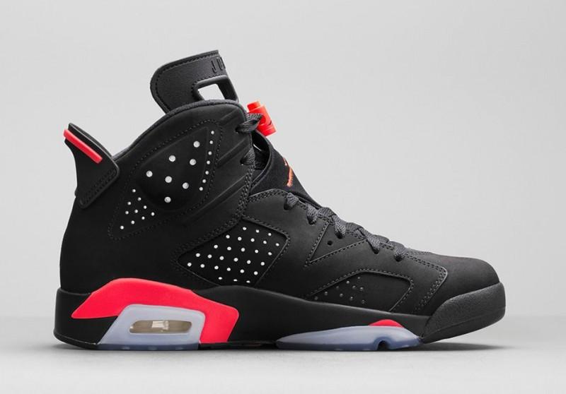 Air Jordan 6 Retro 'Black/Infrared 23
