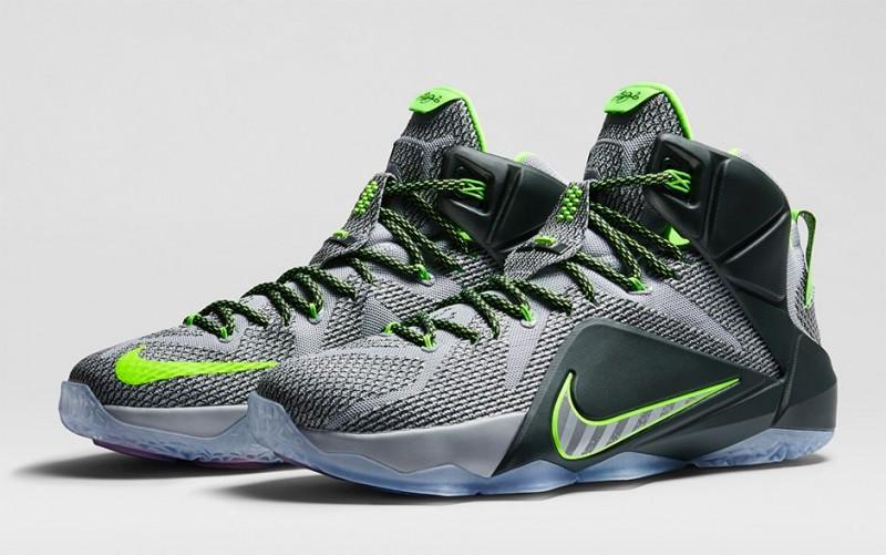 Nike LeBron 12 'Dunk Force' – Foot