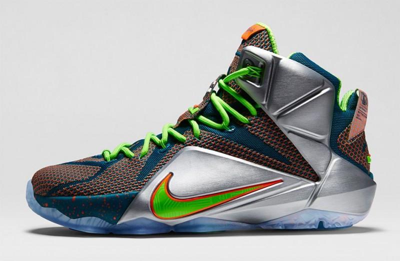 """50a4af7f2703 Nike LeBron 12 """"Trillion Dollar Man"""". December 27th - Posted By Teddy  Roo.  Foot Locker Unlocked NIke LeBron 12 Trillior Dollar Man 1"""