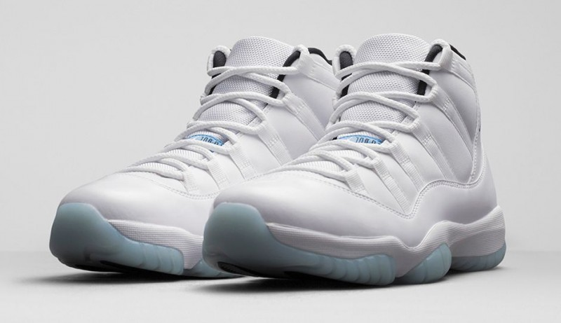 "0a4cce91a8344c Air Jordan 11 Retro ""Legend Blue"" Release Details – Foot Locker Blog"