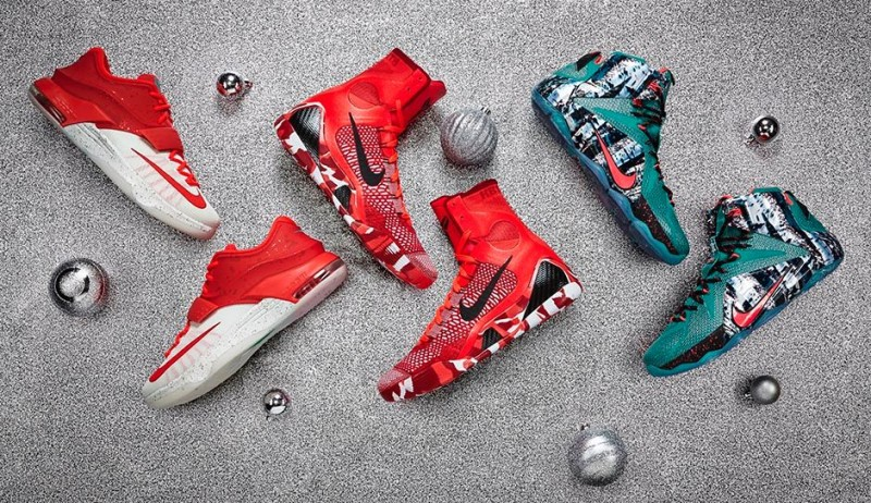 online store ea76f 85afb FL Unlocked FL Unlocked Nike Basketball Christmas Collection 01. Nike  Basketball s ...