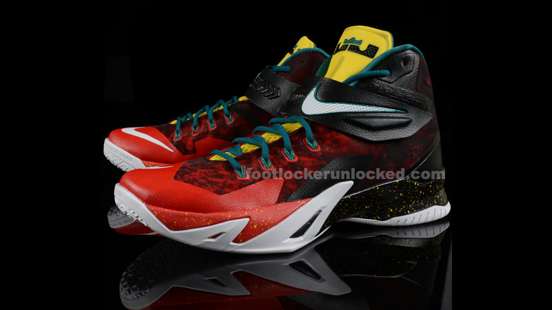 "a35acaecd8ef Nike LeBron Zoom Soldier VIII Premium ""Christmas"" – Foot Locker Blog"