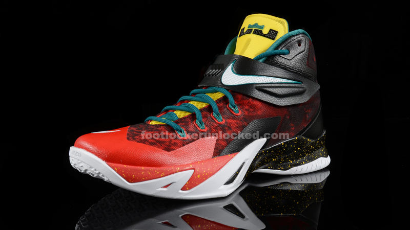 2b93129004b3 Foot Locker Unlocked Nike LeBron Zoom Soldier 8 Christmas 3.  Foot Locker Unlocked Nike LeBron Zoom Soldier 8 Christmas 4