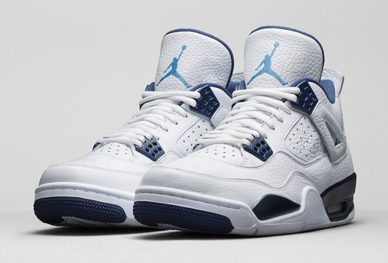 prix le plus bas f1832 6e41a Air Jordan 4 Retro 'Legend Blue' Release Details – Foot ...