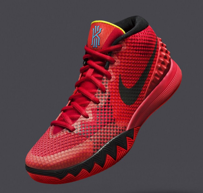 on sale 17efc 18046 Nike Kyrie 1 'Deceptive Red' – Foot Locker Blog