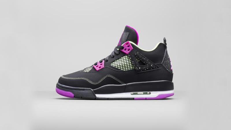 fb0ce623ef0 Girls Air Jordan 4 Retro  Fuchsia Flash  Release Details – Foot ...