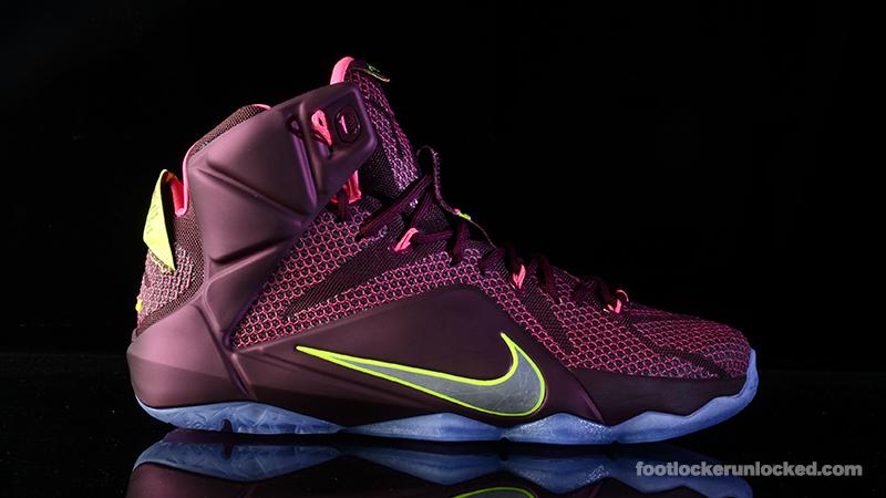 Nike LeBron 12 'Double Helix' – Foot
