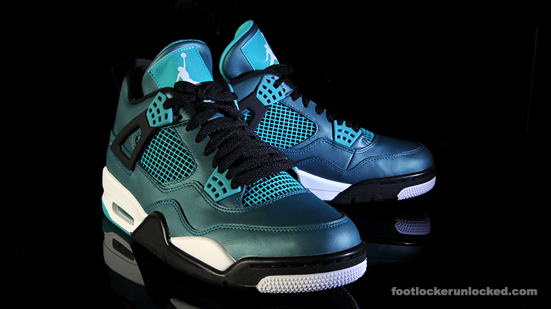 pretty nice a02f9 d9fbc purchase air jordan 4 teal foot locker fc91c ddf31