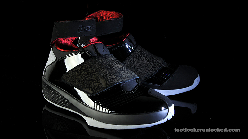 best sneakers 3de5b 15629 Air Jordan XX  Stealth . March 12th - Posted By Foot Locker Unlocked