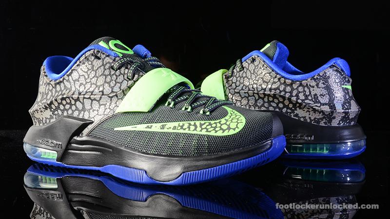 on sale 4e33c 2b24f Nike KD VII  Electric Eel
