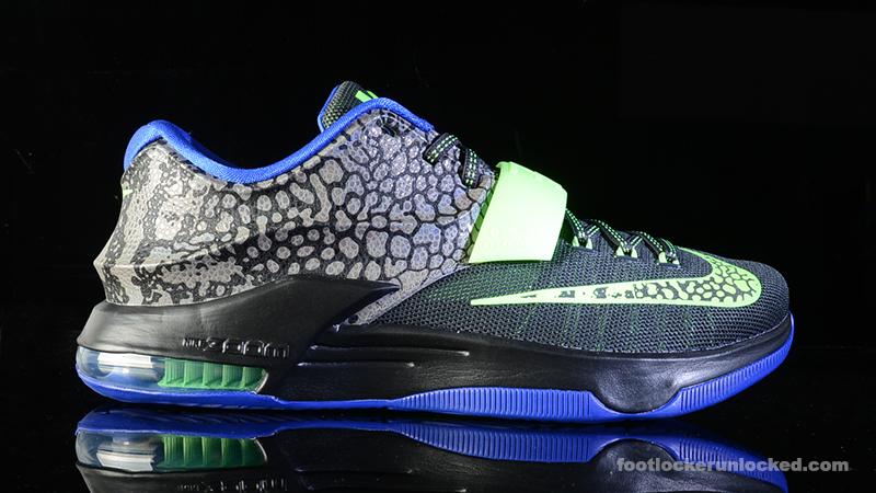 8c778d722bfe Nike KD VII  Electric Eel  – Foot Locker Blog