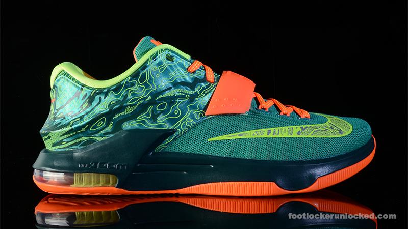 the best attitude 29943 08a58 Nike KD VII 'Weatherman' – Foot Locker Blog