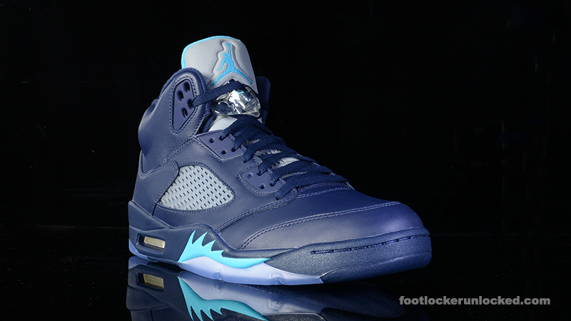 "huge discount d0724 c3d06 Air Jordan 5 Retro ""Midnight Navy"" – Foot Locker Blog"