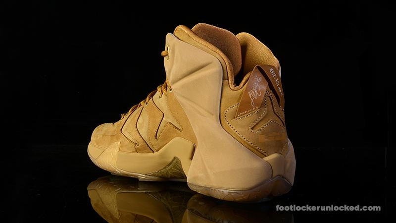 quality design 69c92 23f50 Nike LeBron 12 'Wheat' – Foot Locker Blog