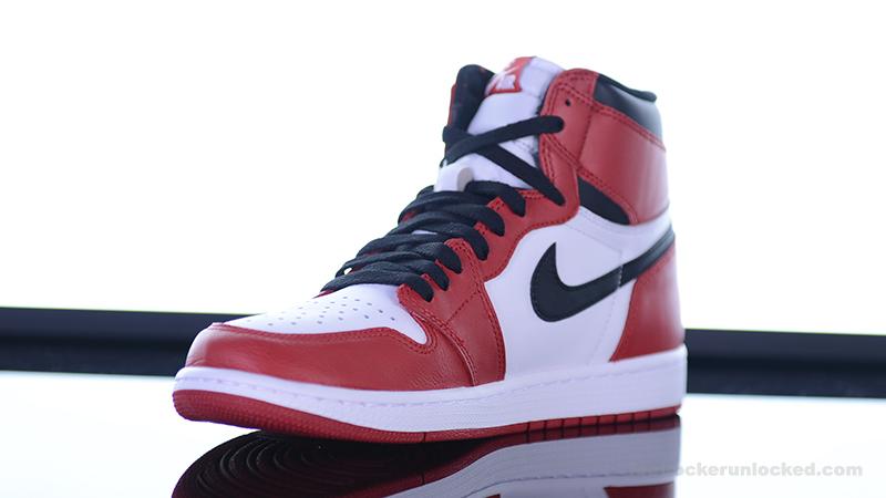 Air Jordan 1 Retro High OG – Foot
