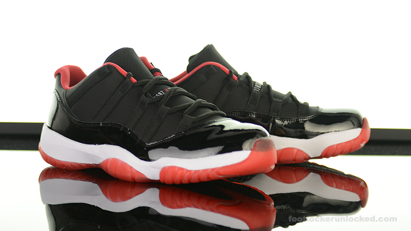 "Air Jordan 11 Retro Low ""True Red"" – Foot Locker Blog 4d454ed43"