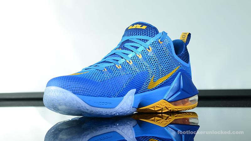 buy online 9d7a8 6ca1e ... Foot-Locker-Nike-LeBron-12-Low-Photo-Blue- ...