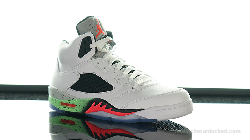 "Air Jordan 5 Retro ""Poison Green"" – Foot Locker Blog 31bc913f3"