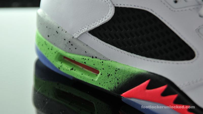 "acb86fccd618dd Air Jordan 5 Retro ""Poison Green"" – Foot Locker Blog"