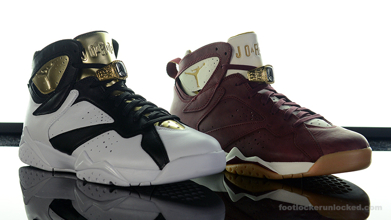 "afefa14c03cf63 Air Jordan 7 Retro ""Championship"" Pack – Foot Locker Blog"