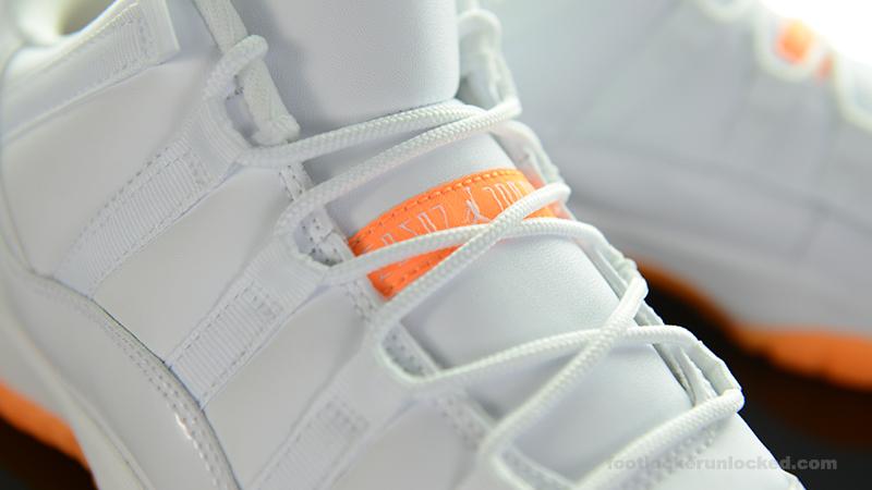 "4ea358fda1a3 Grade School Air Jordan 11 Retro Low ""Citrus"" – Foot Locker Blog"
