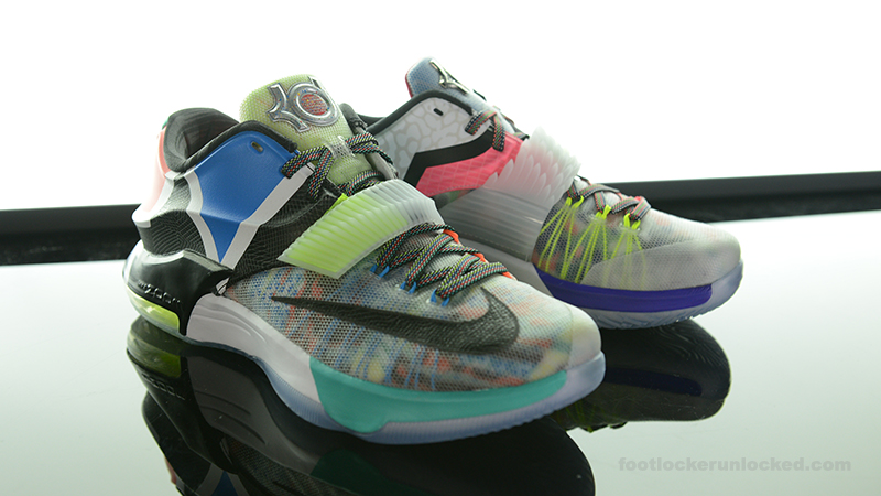 """watch 93727 7a74a Nike KD VII """"What The"""""""