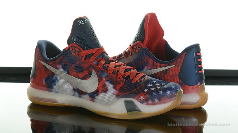 official photos bda18 bd38e Foot-Locker-Nike-Kobe-X-4th-Of-July- ...