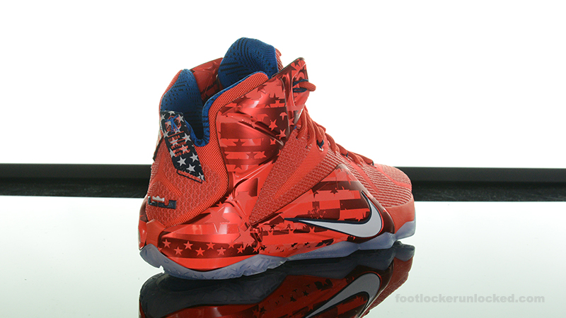 best authentic 4ce2c bf6da ... Foot-Locker-Nike-LeBron-12-4th-Of-July- ...