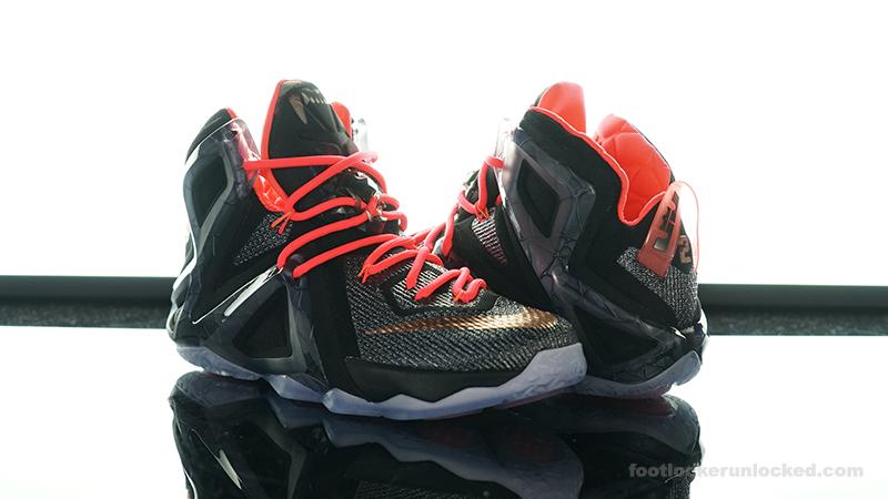 half off 559c8 494cc Foot-Locker-Nike-LeBron-12-Elite-Rose-Gold- ...