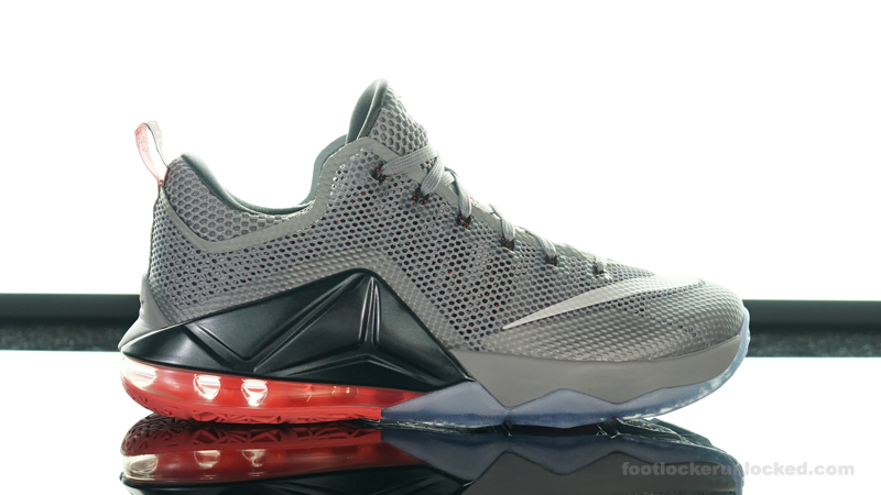 """outlet store 26806 e48d9 Nike LeBron 12 Low """"Wolf Grey"""" – Foot Locker Blog"""