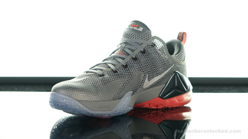 "outlet store 26806 e48d9 Nike LeBron 12 Low ""Wolf Grey"" – Foot Locker Blog"
