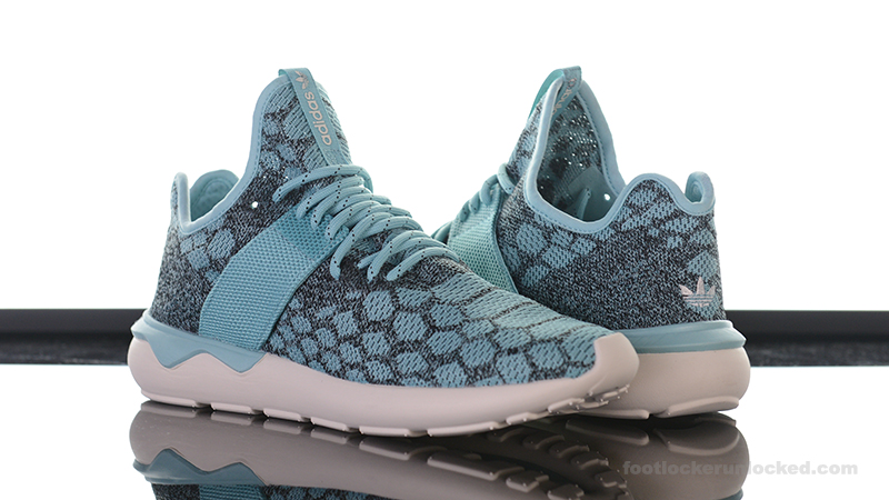 2a76c843c655 adidas Originals Tubular Runner Primeknit Blue Spice. Foot-Locker-adidas- Originals-Prime-Knit-Blue-Spice- ...