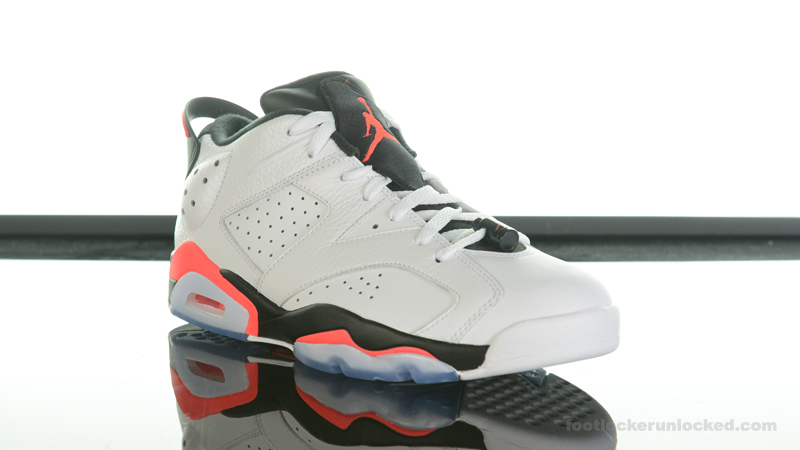 "48cbc47aa1cb Air Jordan 6 Retro Low ""Infrared"" – Foot Locker Blog"