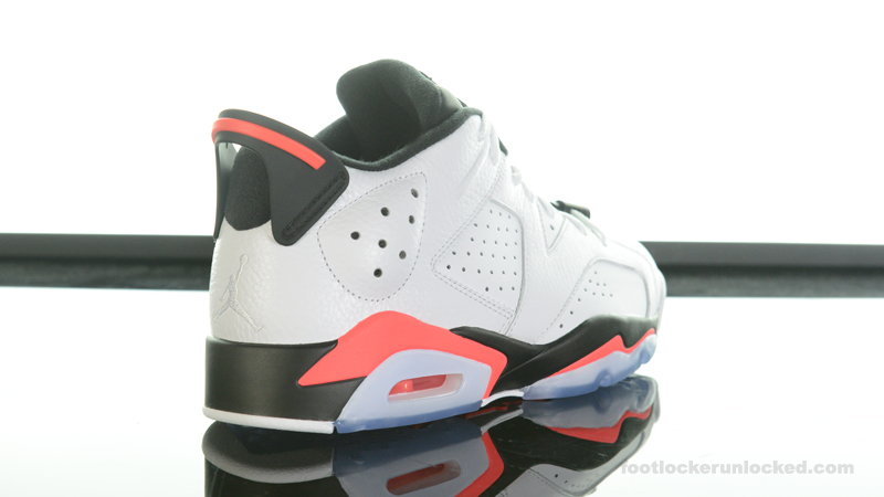 "purchase cheap 5e481 aed89 Air Jordan 6 Retro Low ""Infrared"" – Foot Locker Blog"