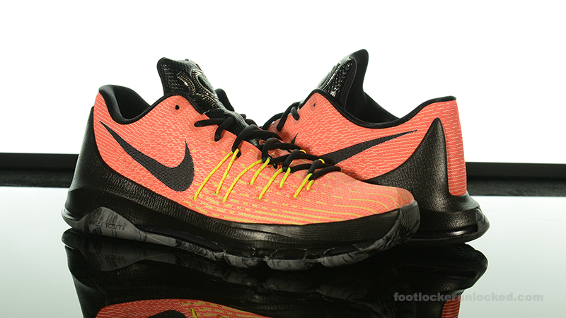 "superior quality 86266 2fe92 Foot Locker Exclusive  Nike KD8 ""Hunt s Hill Sunrise"""