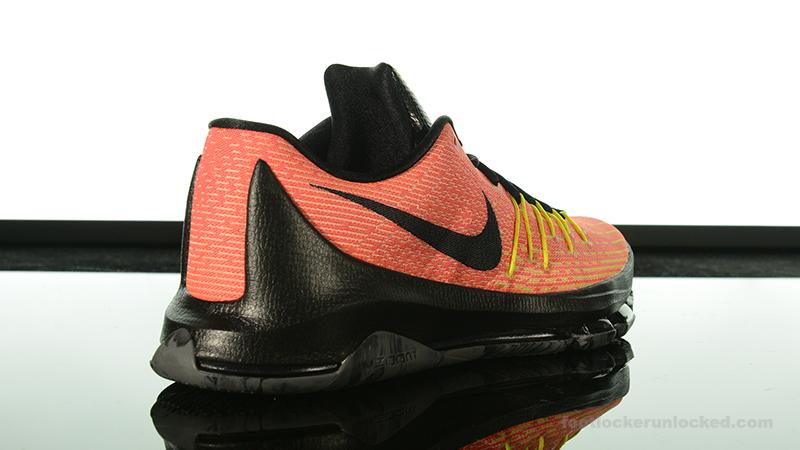 """0f7a008dc607 Foot Locker Exclusive  Nike KD8 """"Hunt s Hill Sunrise"""" – Foot Locker Blog"""