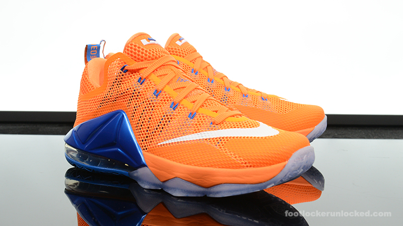 "6c66c4209e9c Nike LeBron 12 Low ""Bright Citrus"" – Foot Locker Blog"