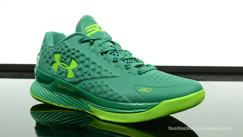 "check out 9b44b 0ee3a Under Armour Curry One Low ""Scratch Green"" – Foot Locker Blog"