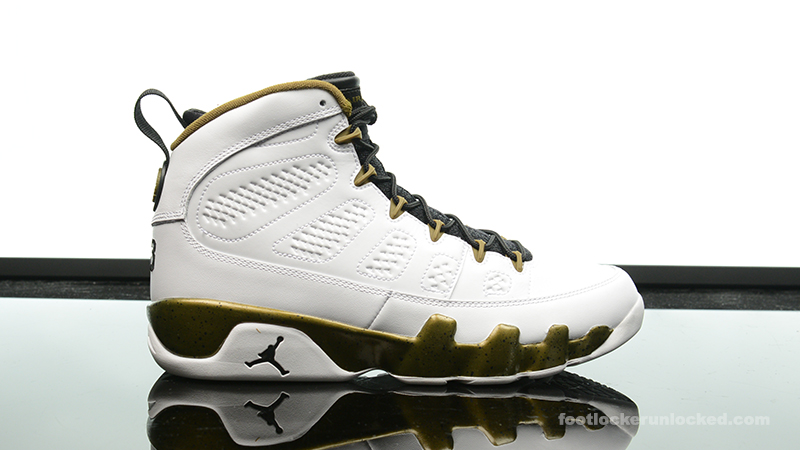 "9f94bc0f10ce85 Air Jordan 9 Retro ""Statue"" – Foot Locker Blog"