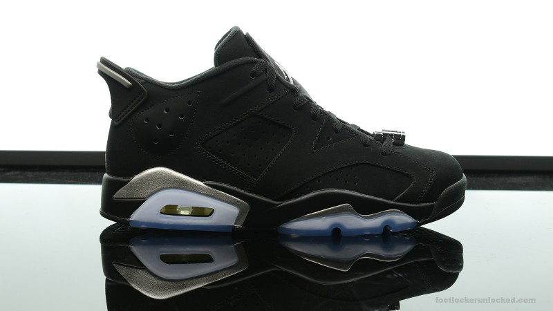 "best website 0074a 87d14 Jordan Retro VI Low ""Black/Metallic Silver"" – Foot Locker Blog"