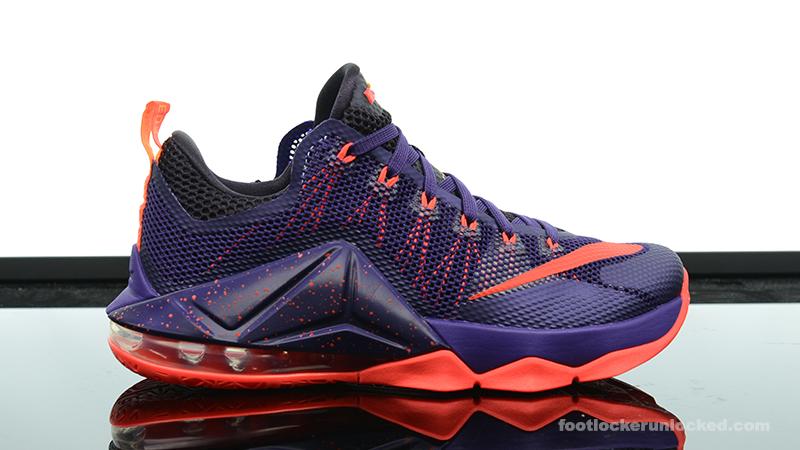 """2aea65dd028 Nike LeBron 12 Low """"Court Purple"""" – Foot Locker Blog"""
